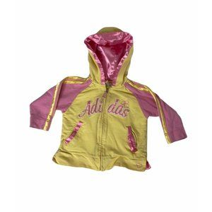 ~Infant girls size 12 months adidas hoodie